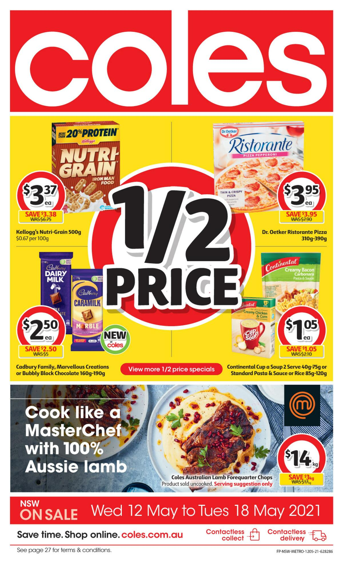 Coles Catalogues from May 12