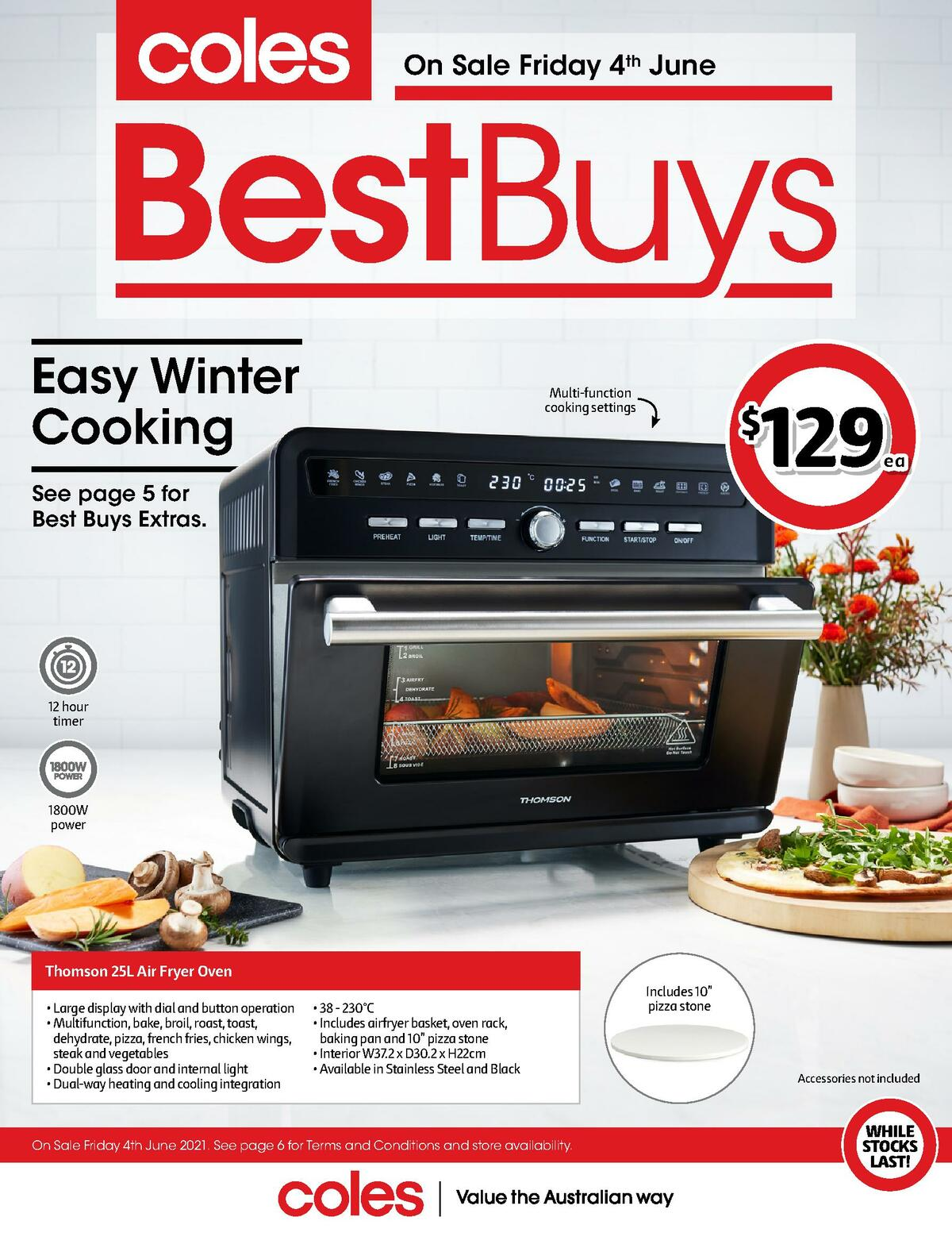 Coles Best Buys - Winter Appliances Catalogues from June 4