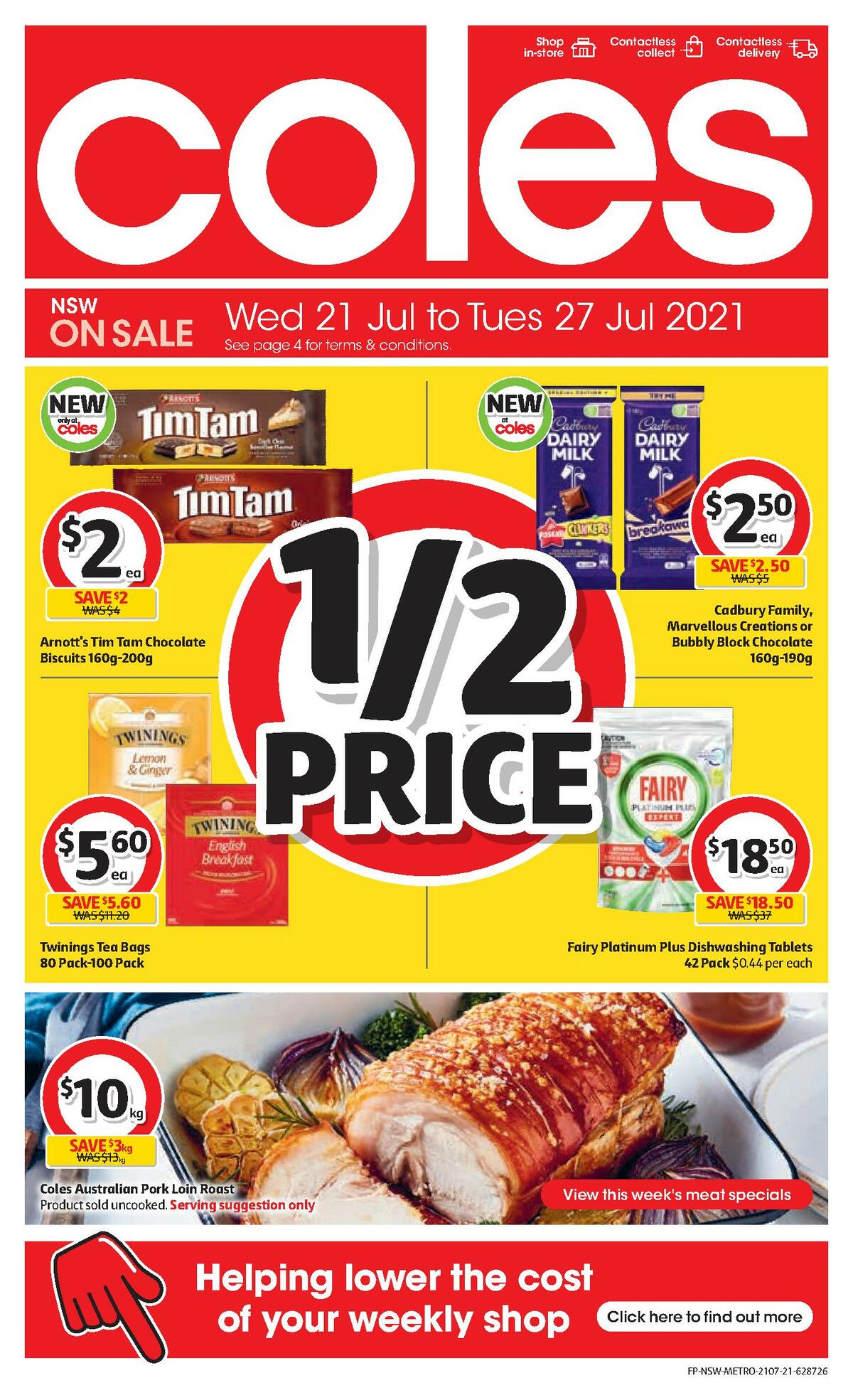 Coles Catalogues from July 21
