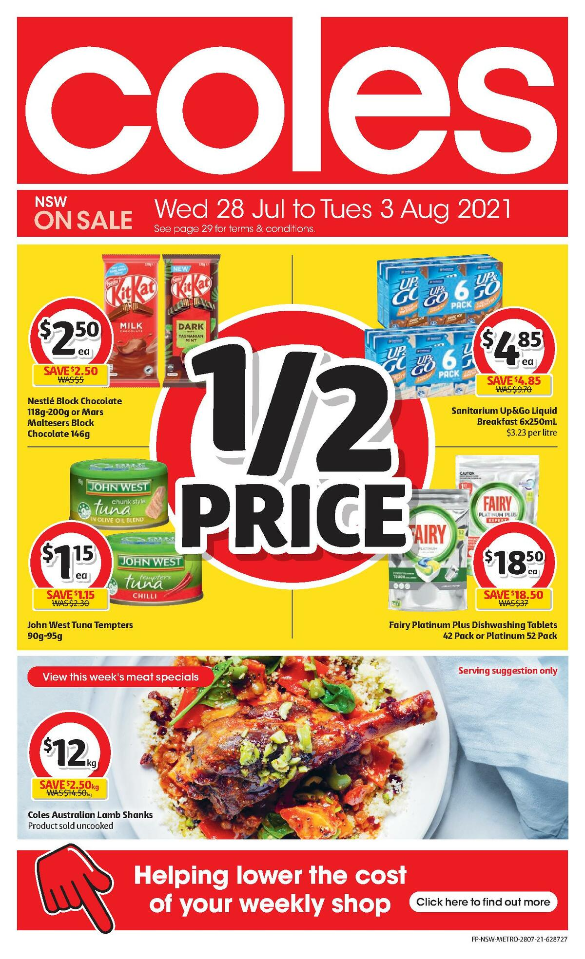 Coles Catalogues from July 28