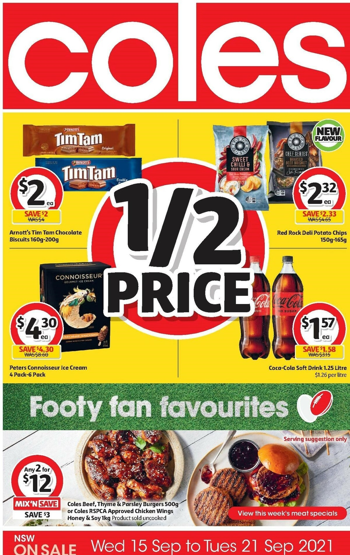 Coles Catalogues from September 15