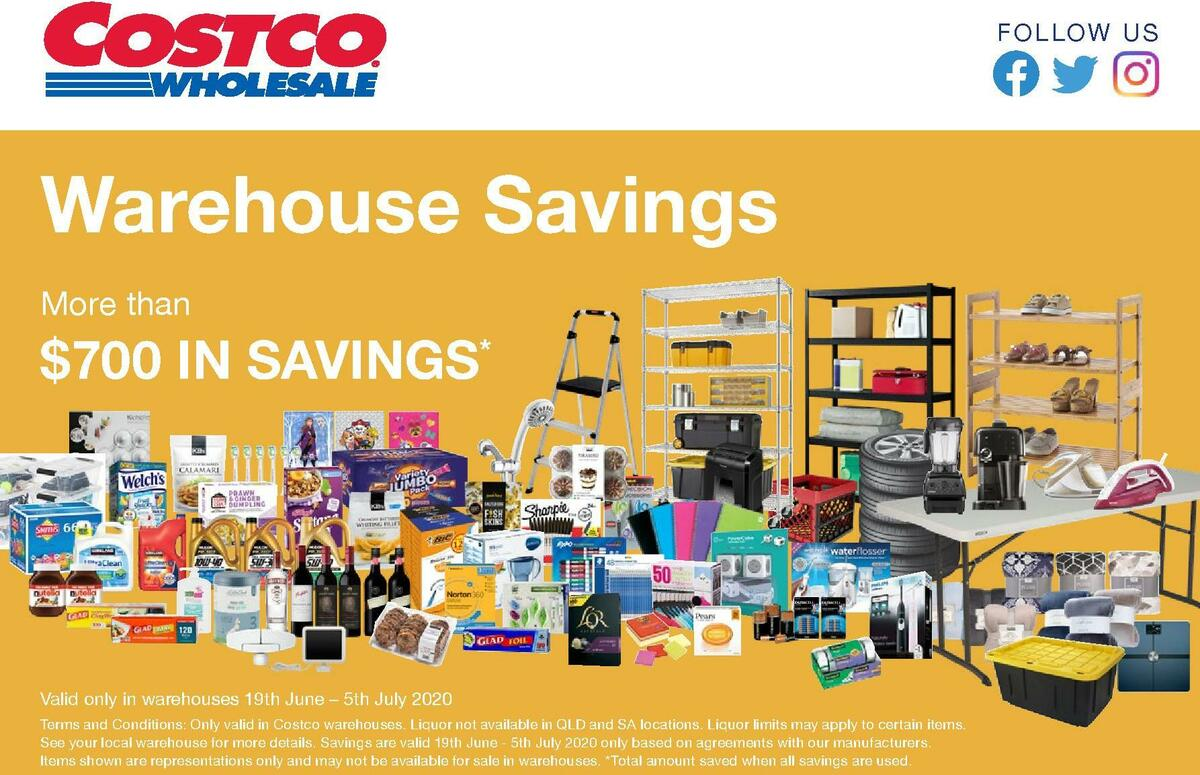 Costco Catalogues from June 19