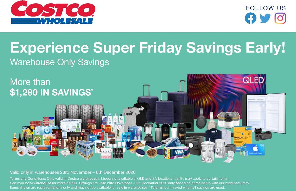 Costco Catalogues from November 23