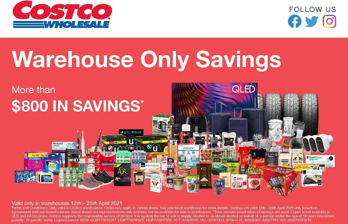 Costco Catalogues from April 12