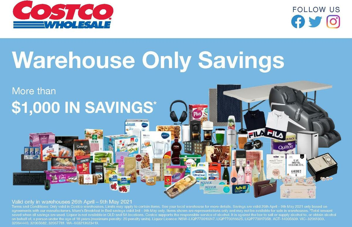 Costco Catalogues from April 26