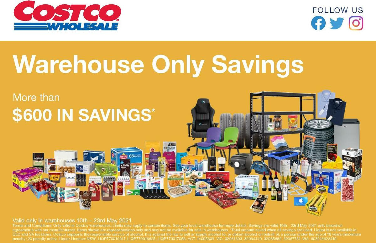 Costco Catalogues from May 10