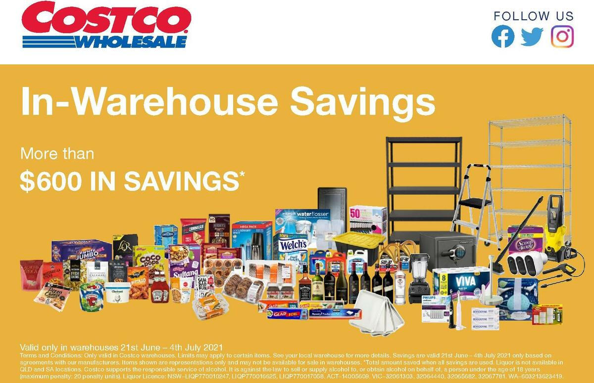 Costco Catalogues from June 21