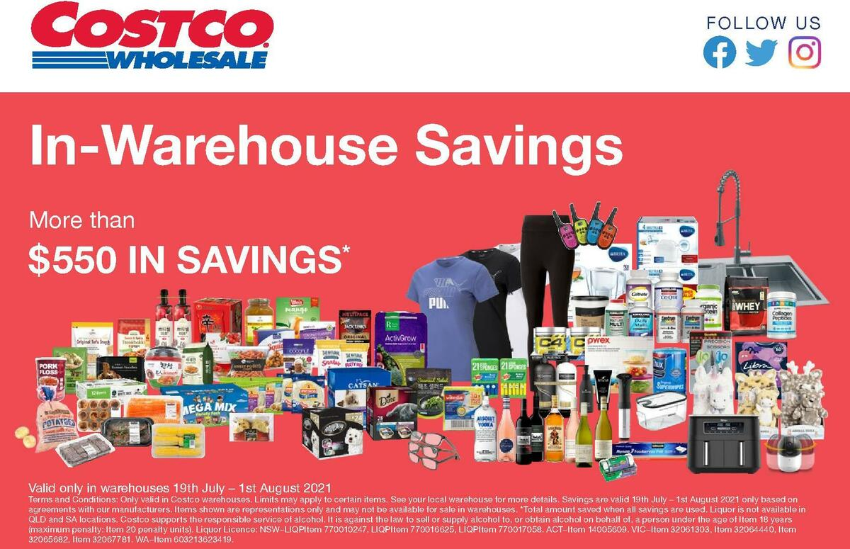 Costco Catalogues from July 19