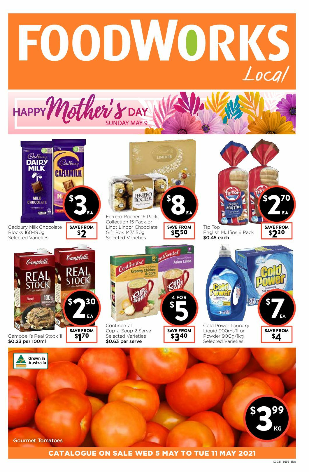 FoodWorks Catalogues from May 5