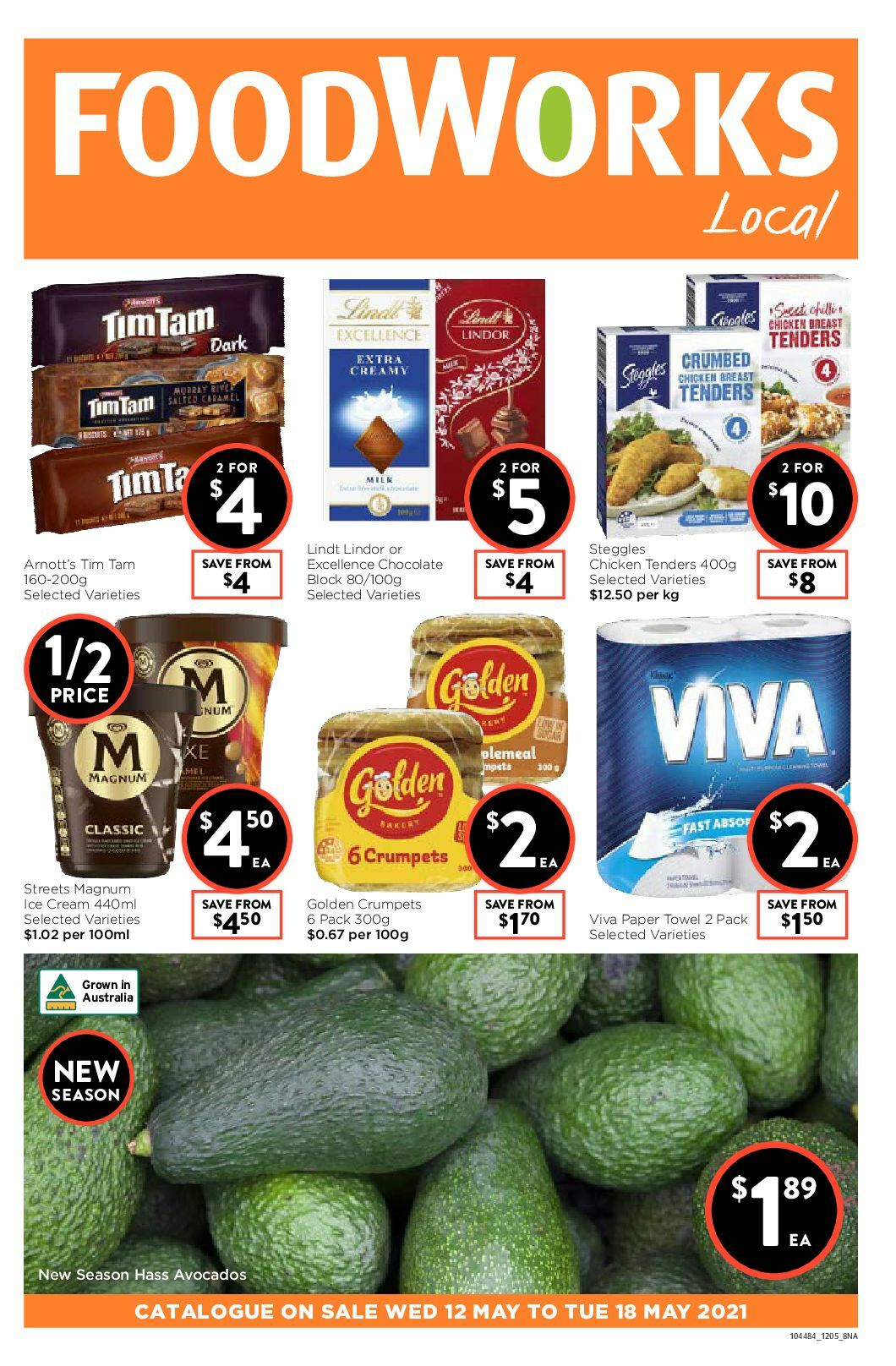 FoodWorks Catalogues from May 12