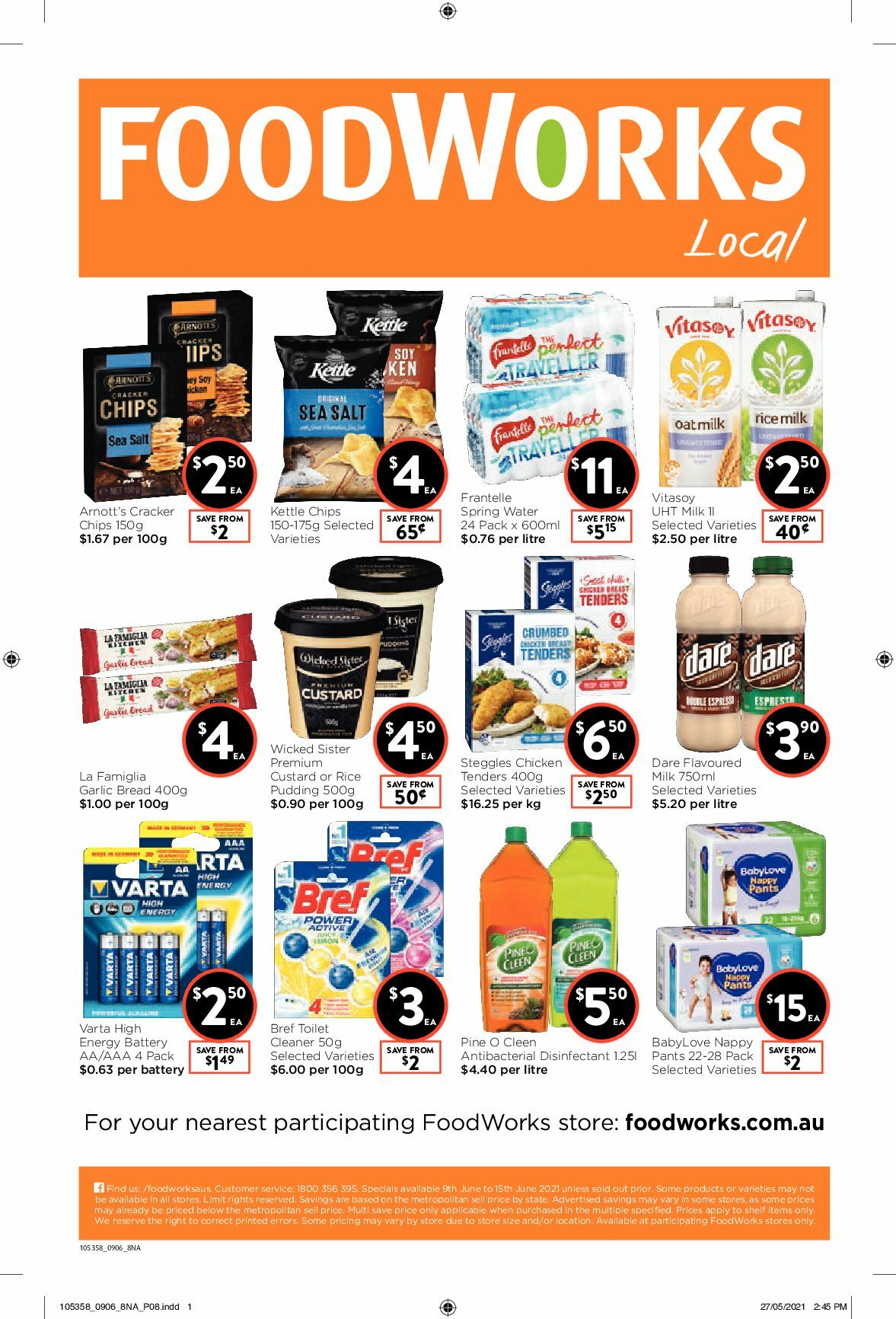 FoodWorks Catalogues from June 9