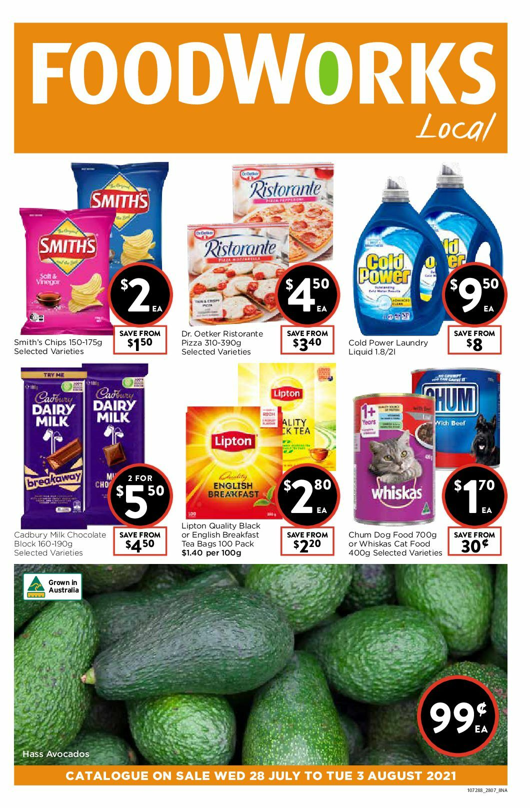 FoodWorks Catalogues from July 28
