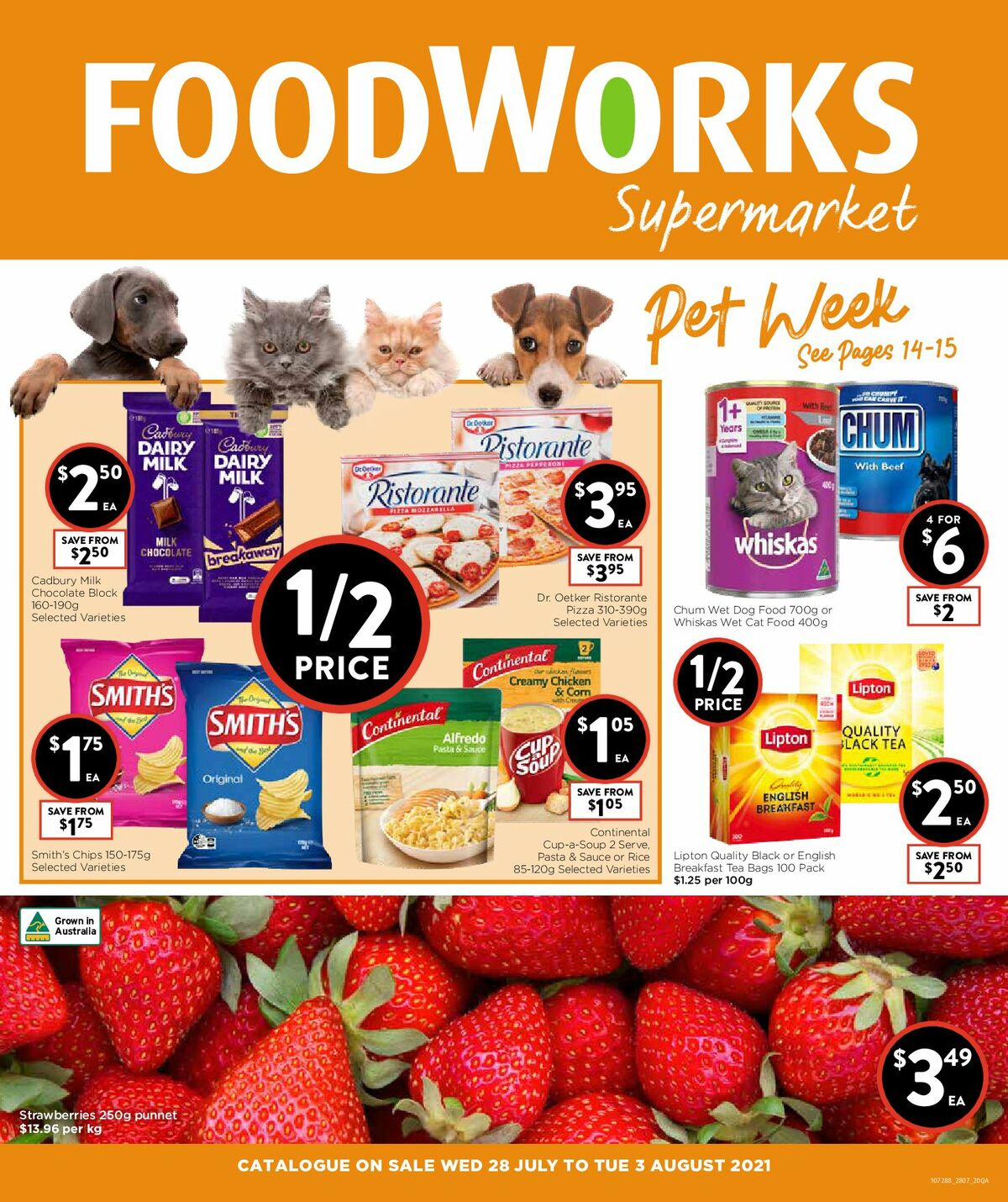 FoodWorks Supermarket Catalogues from July 28
