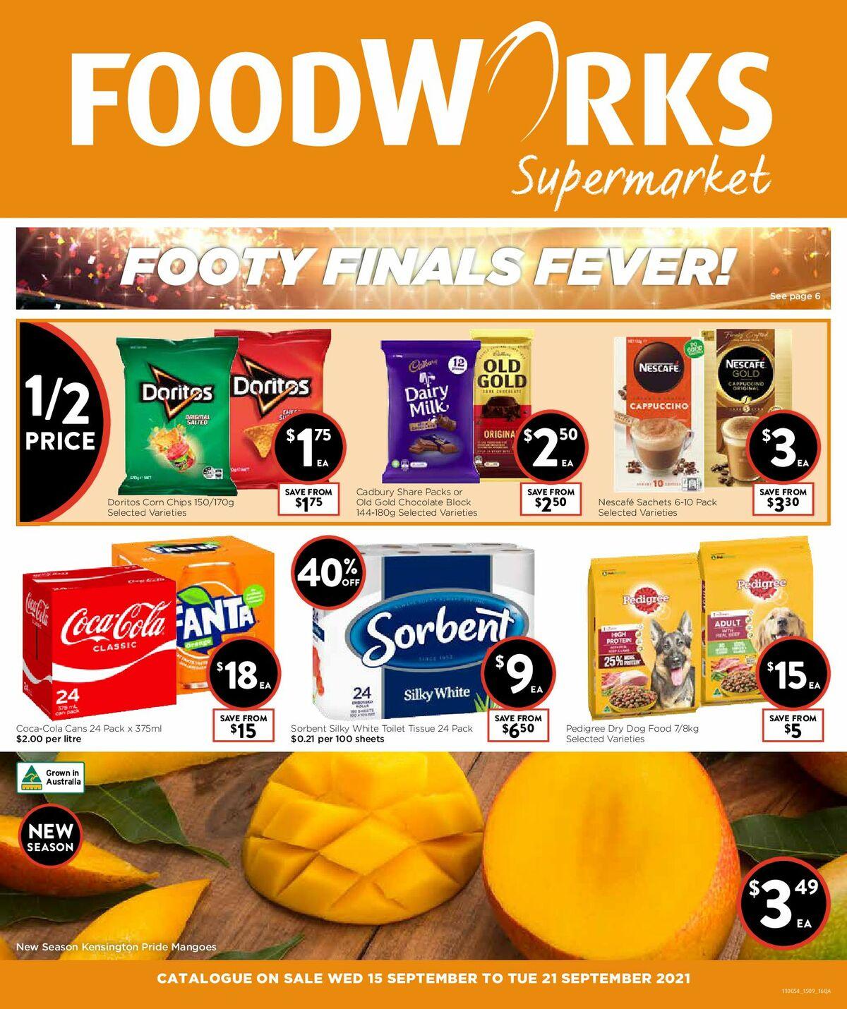 FoodWorks Supermarket Catalogues from September 15