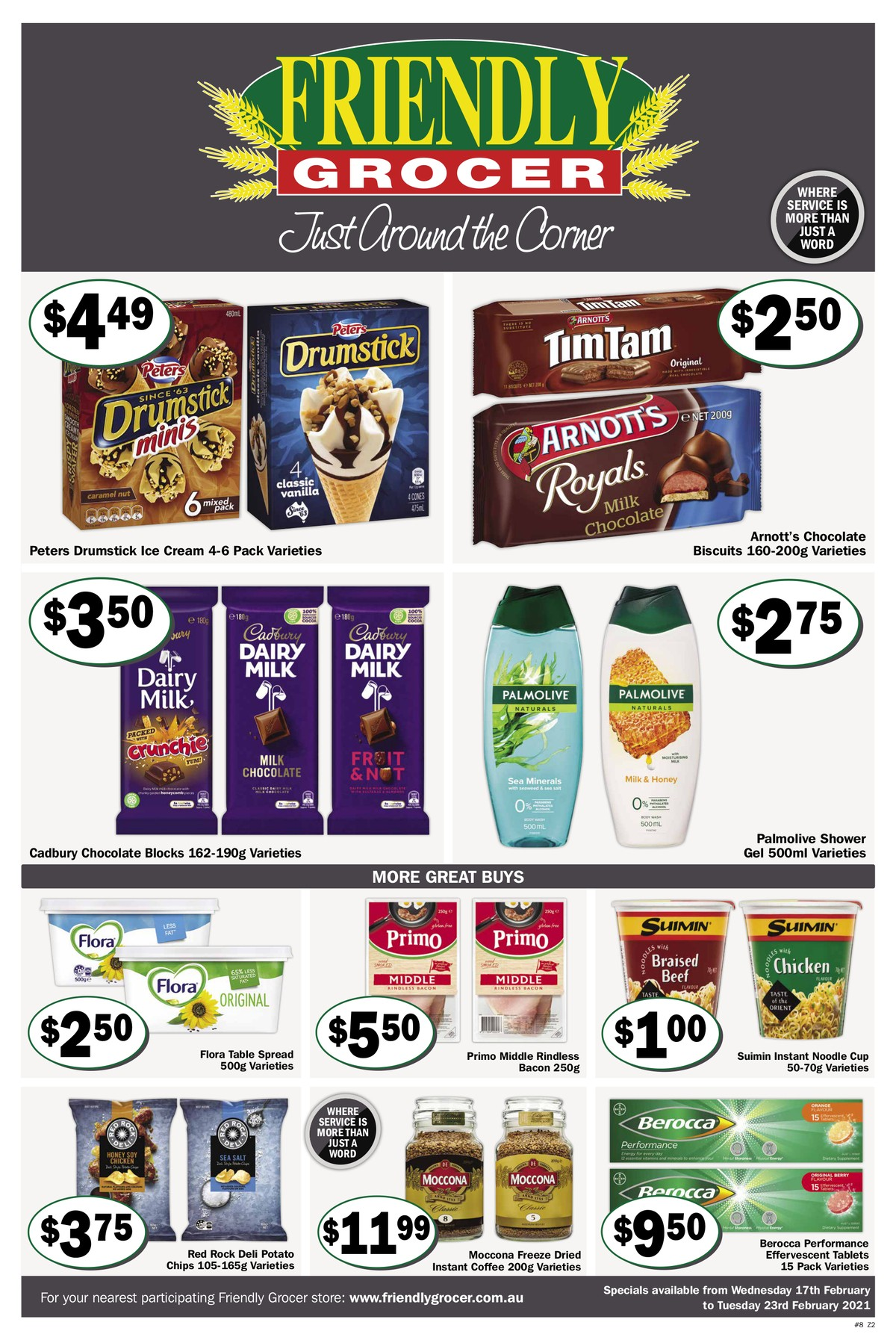 Friendly Grocer Catalogues from February 17