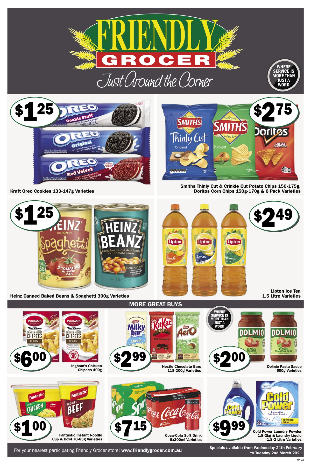 Friendly Grocer Catalogues from February 24