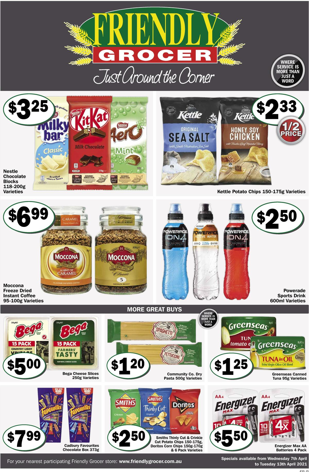 Friendly Grocer Catalogues from April 7