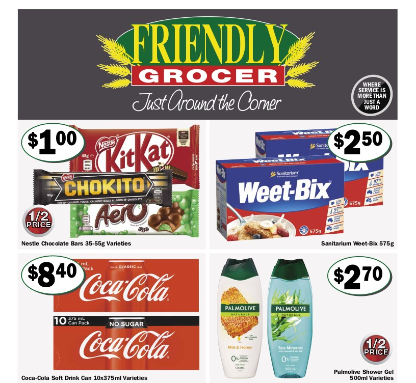 Friendly Grocer Catalogues from April 28