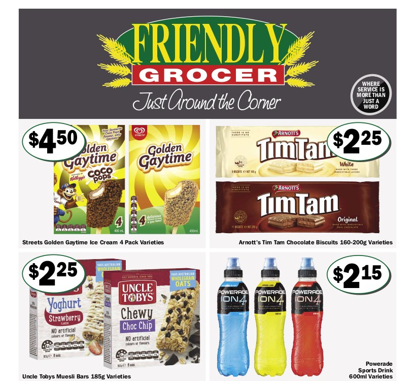 Friendly Grocer Catalogues from May 5
