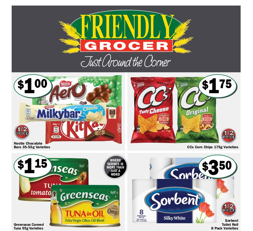 Friendly Grocer Catalogues from May 12