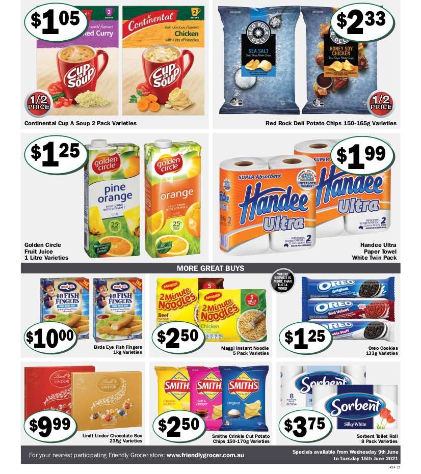 Friendly Grocer Catalogues from June 9