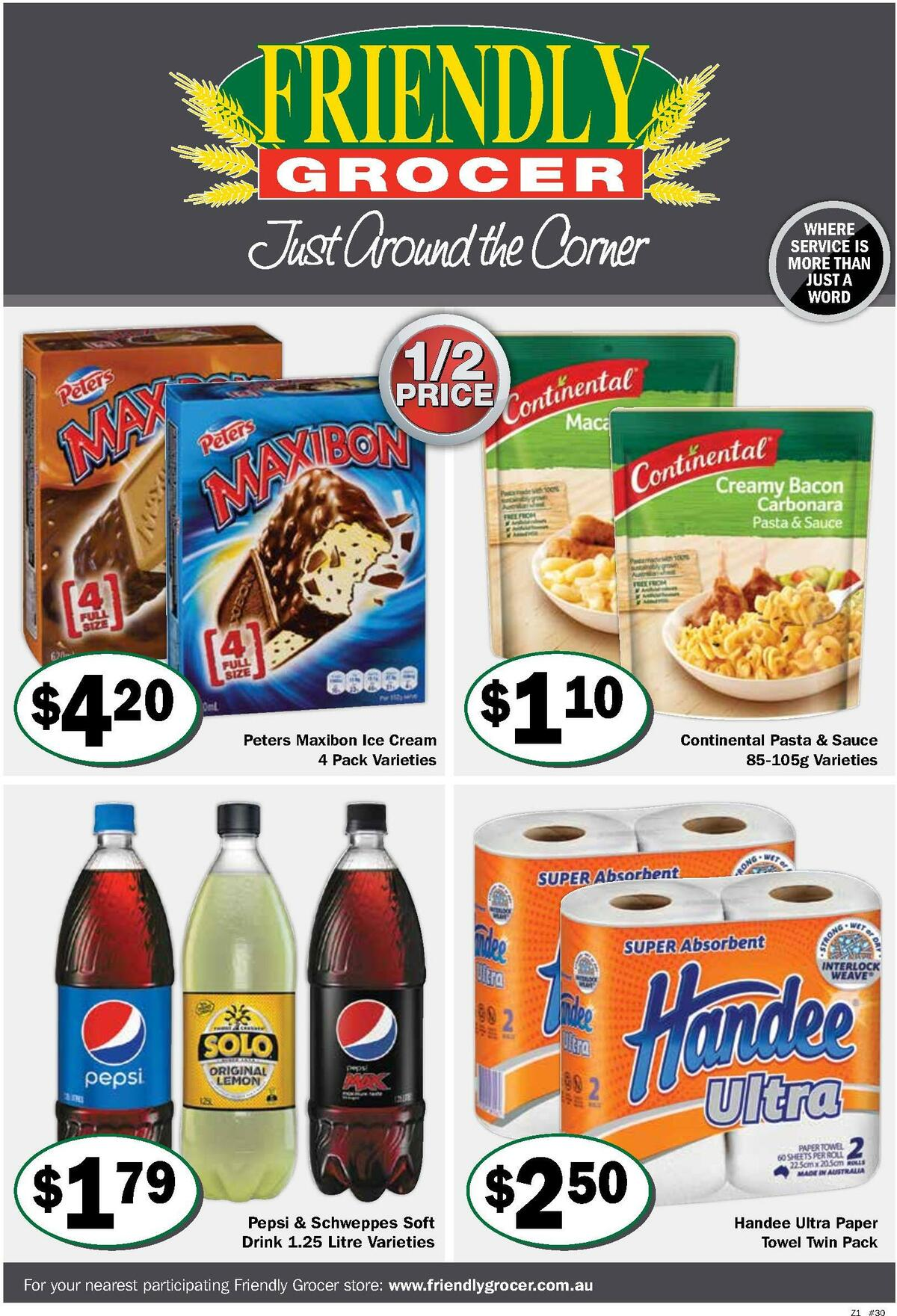 Friendly Grocer Catalogues from July 21