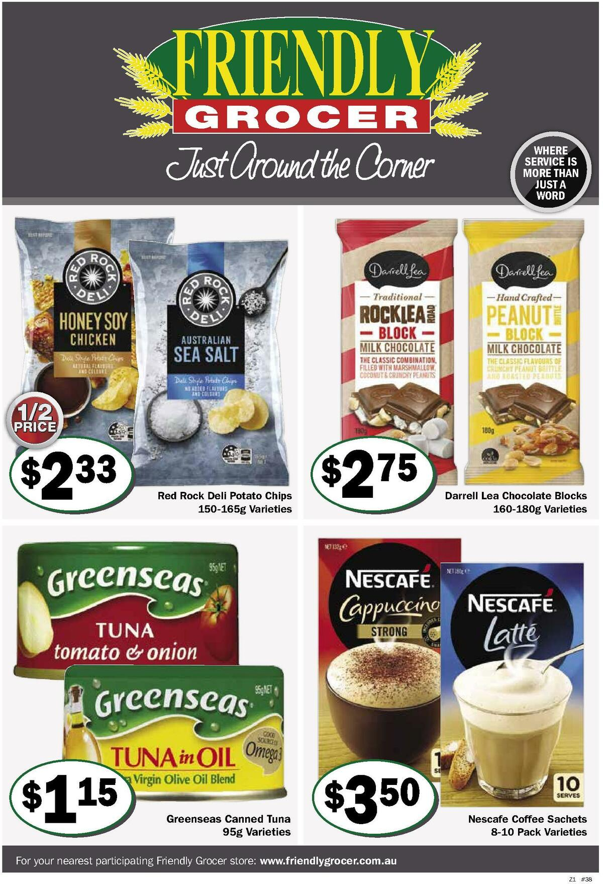 Friendly Grocer Catalogues from September 15