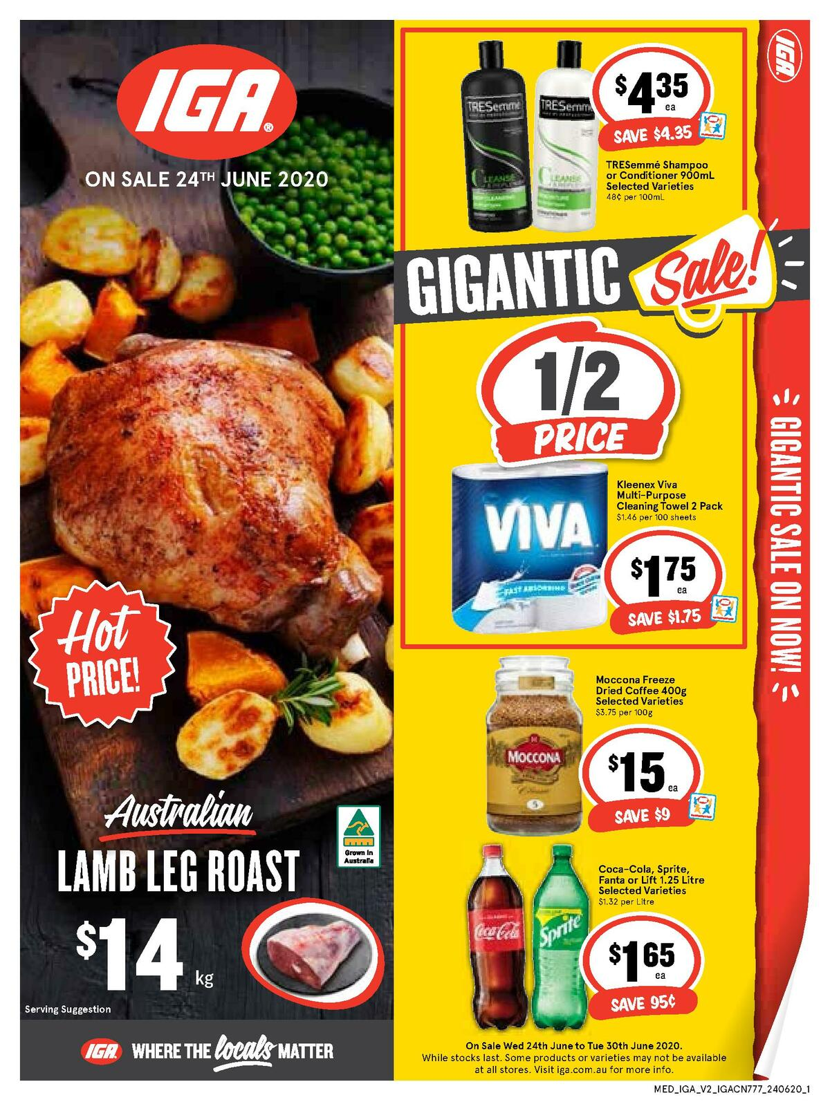 IGA Catalogues from June 24