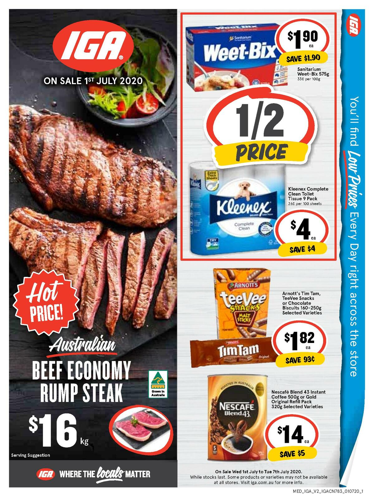 IGA Catalogues from July 1