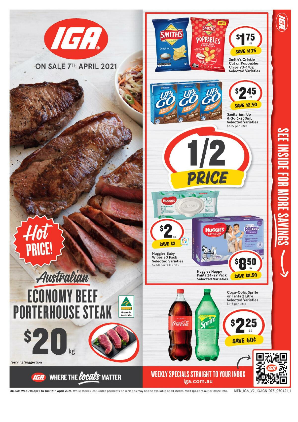 IGA Catalogues from April 7