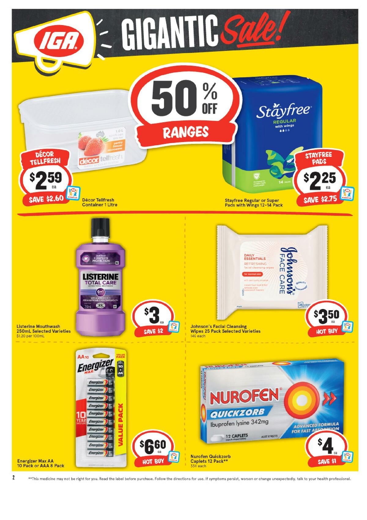 IGA Catalogues from June 9