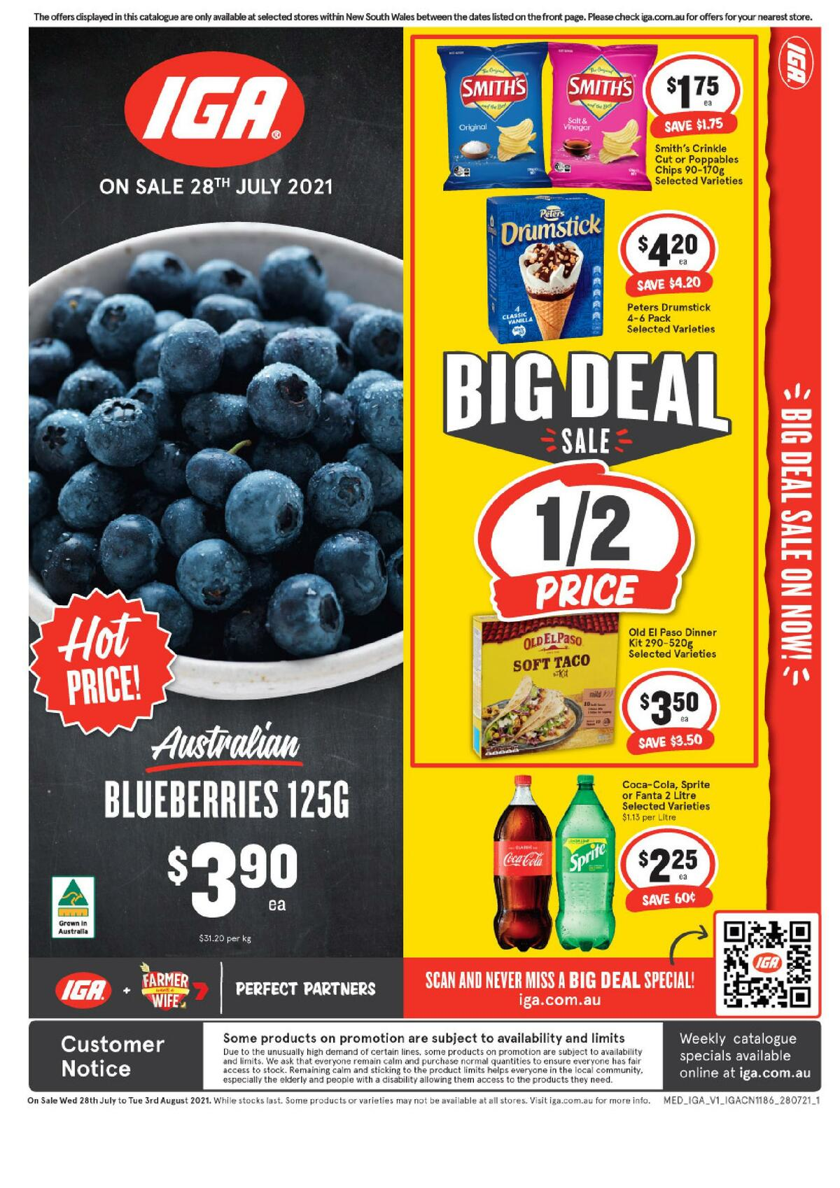 IGA Catalogues from July 28