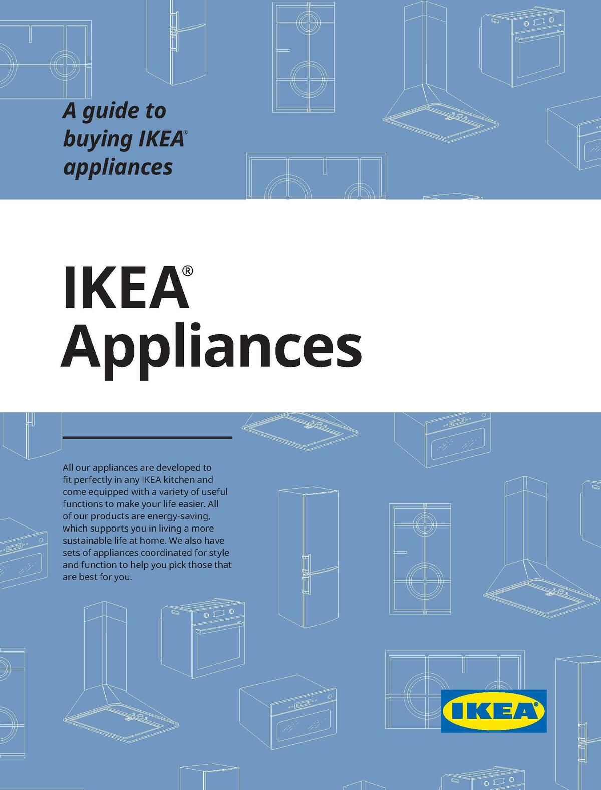 IKEA Appliances Buying Guide Catalogues from October 31