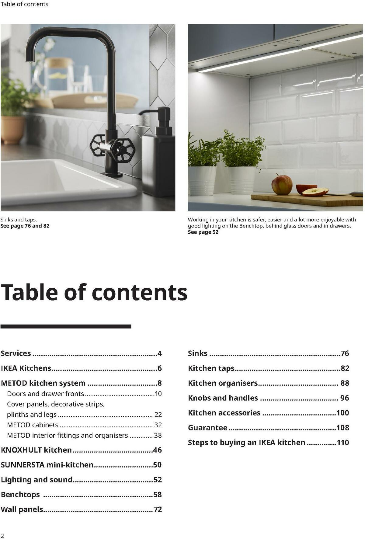 IKEA Kitchens Buying Guide Catalogues from October 31