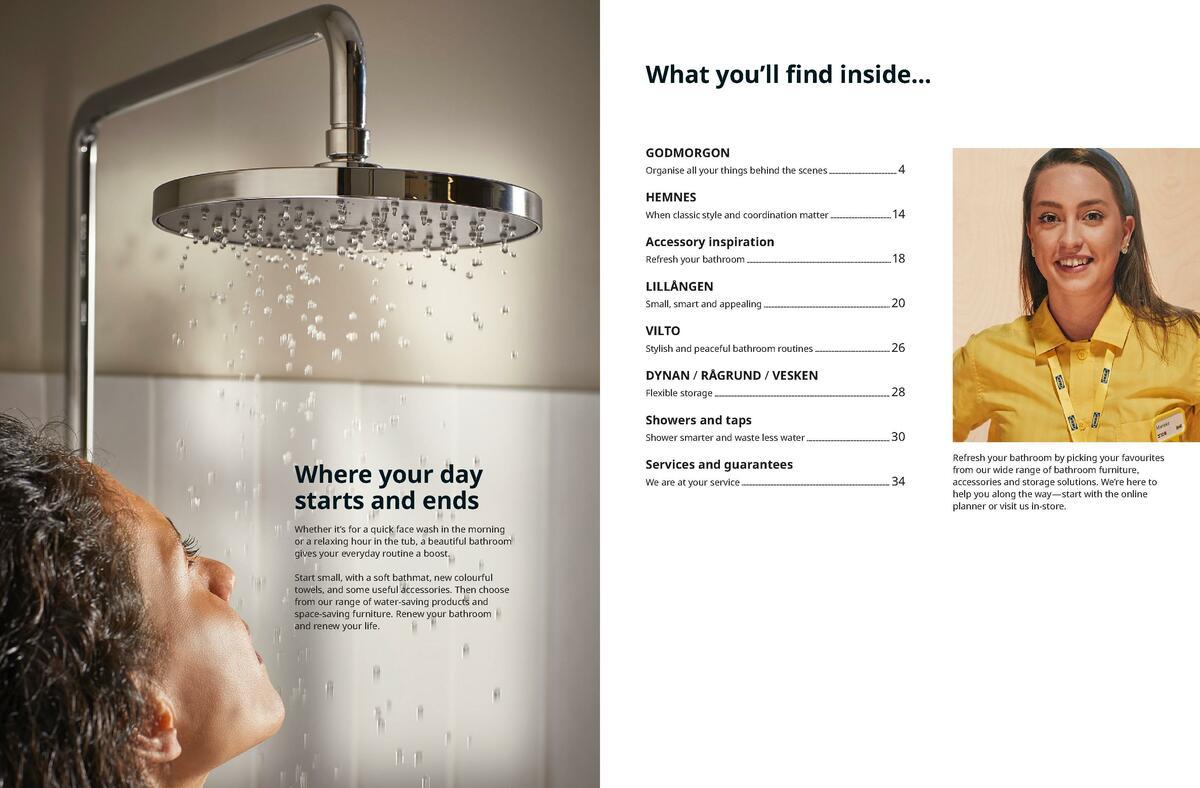 IKEA Bathroom Brochure Catalogues from September 30