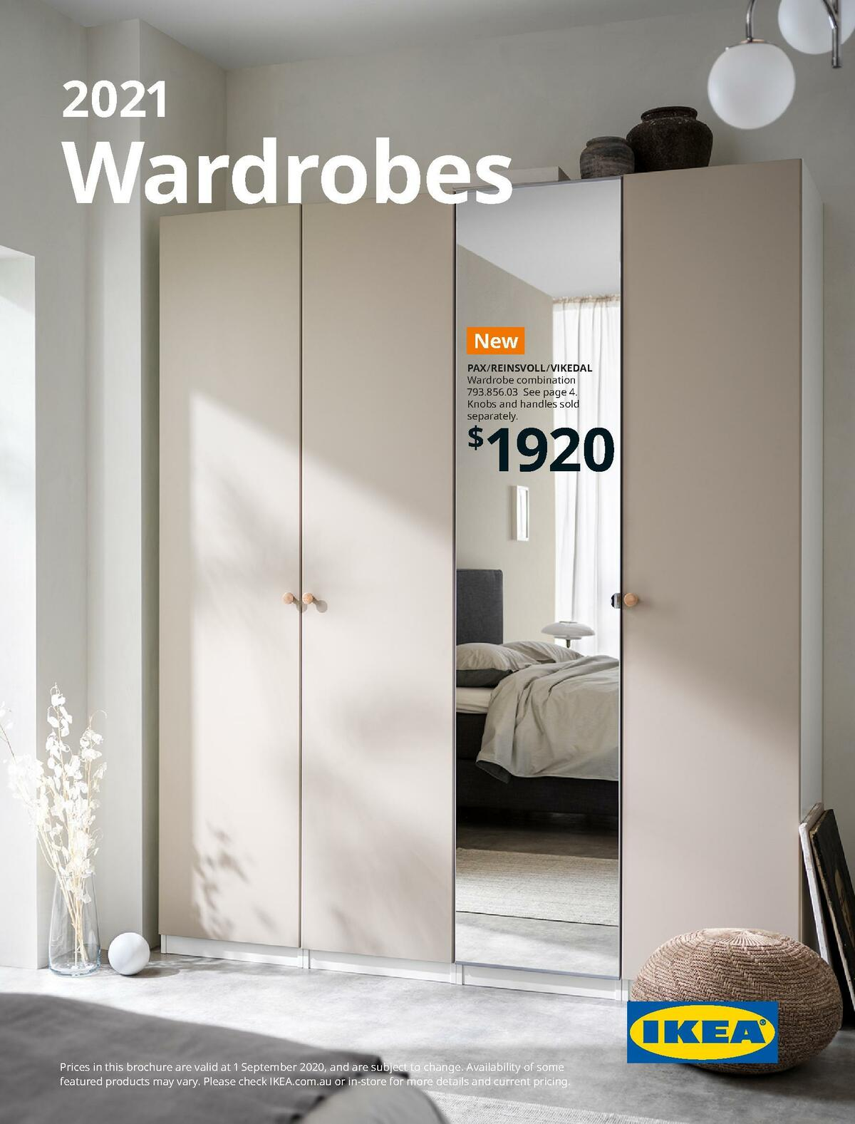 IKEA Wardrobes Brochure Catalogues from August 31