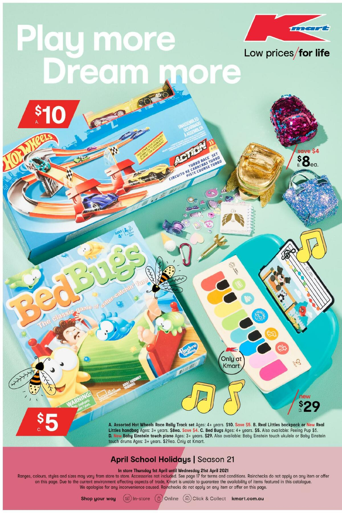 Kmart Catalogues from April 1