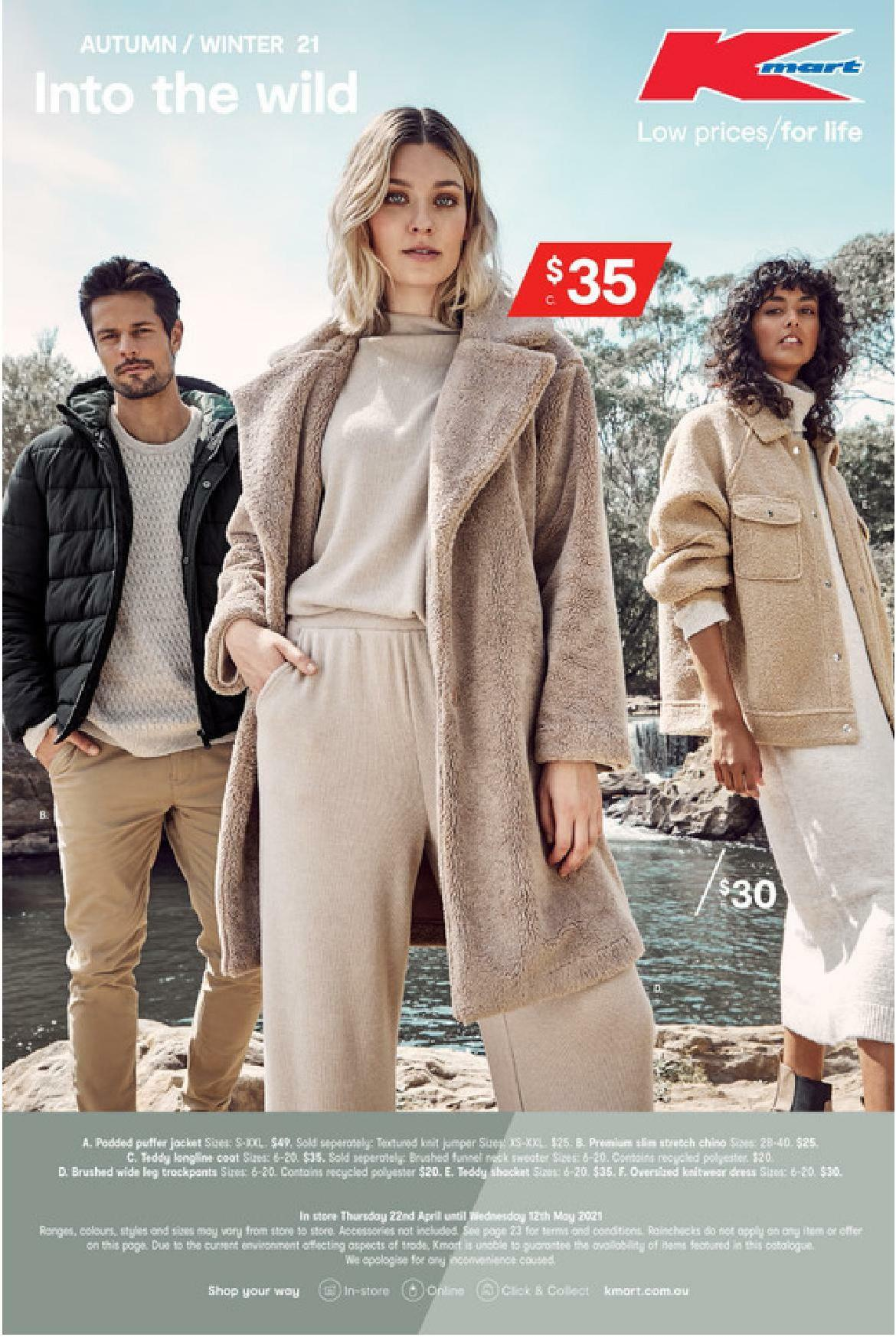 Kmart Catalogues from April 22