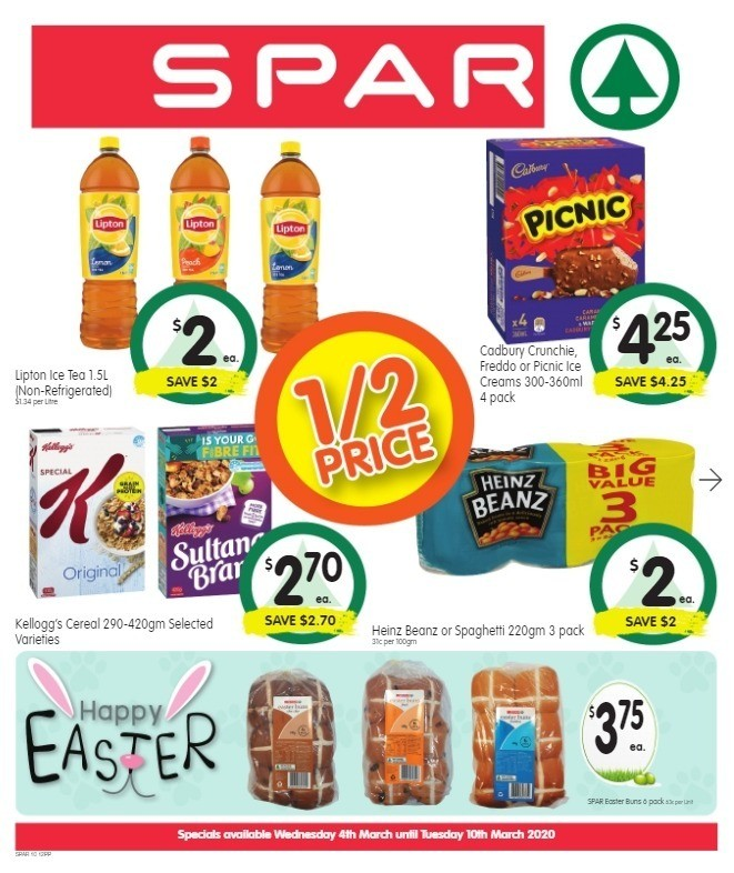 Spar Catalogues from March 4