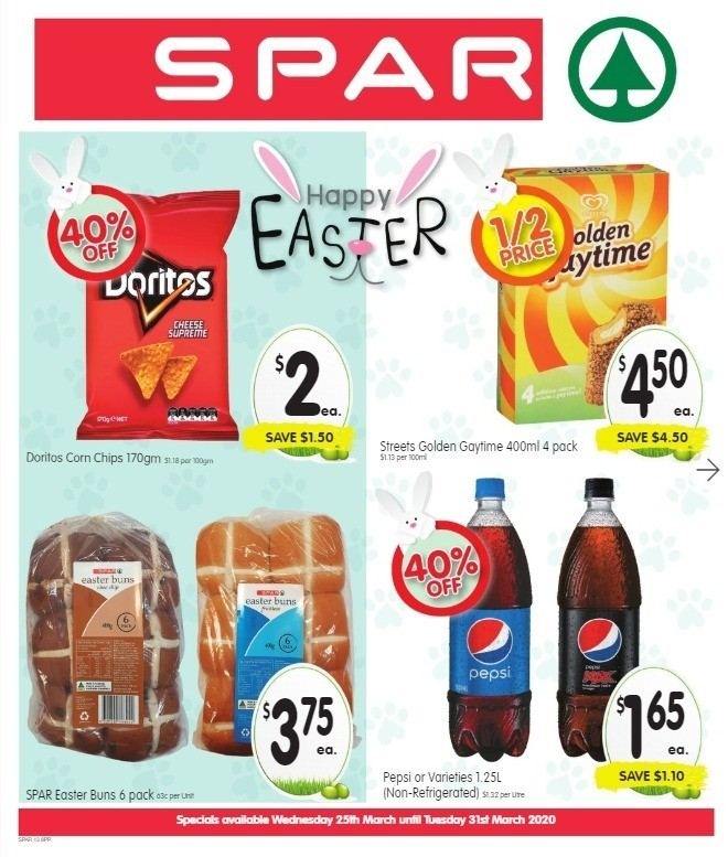 Spar Catalogues from March 25