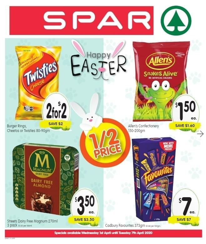 Spar Catalogues from April 1