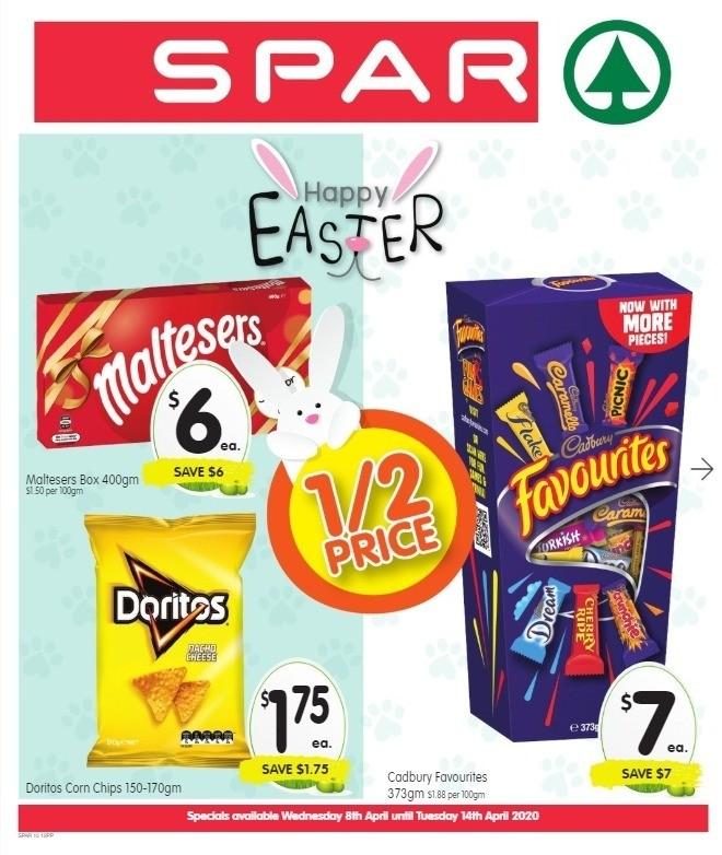 Spar Catalogues from April 8