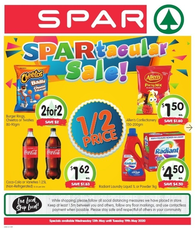 Spar Catalogues from May 13