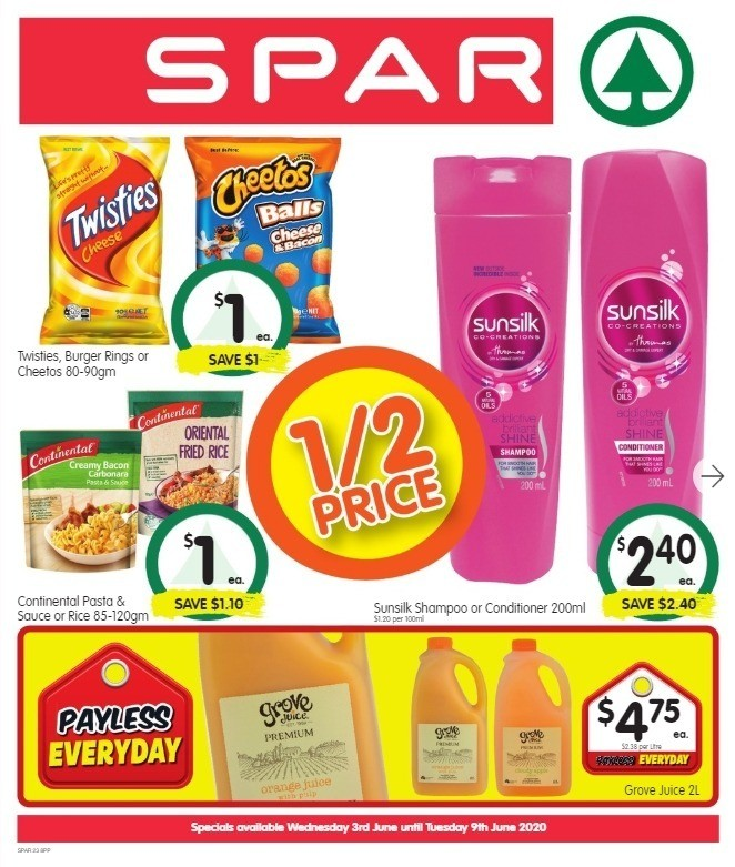 Spar Catalogues from June 3