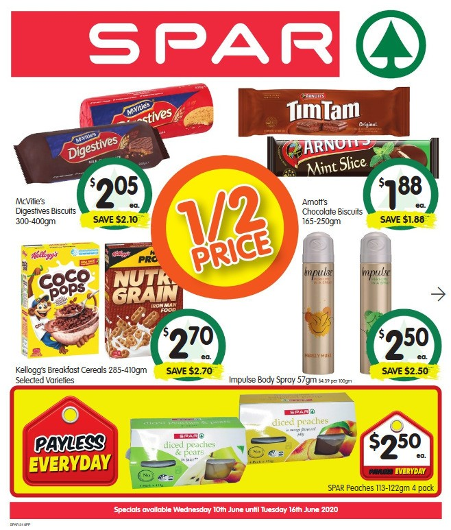 Spar Catalogues from June 10