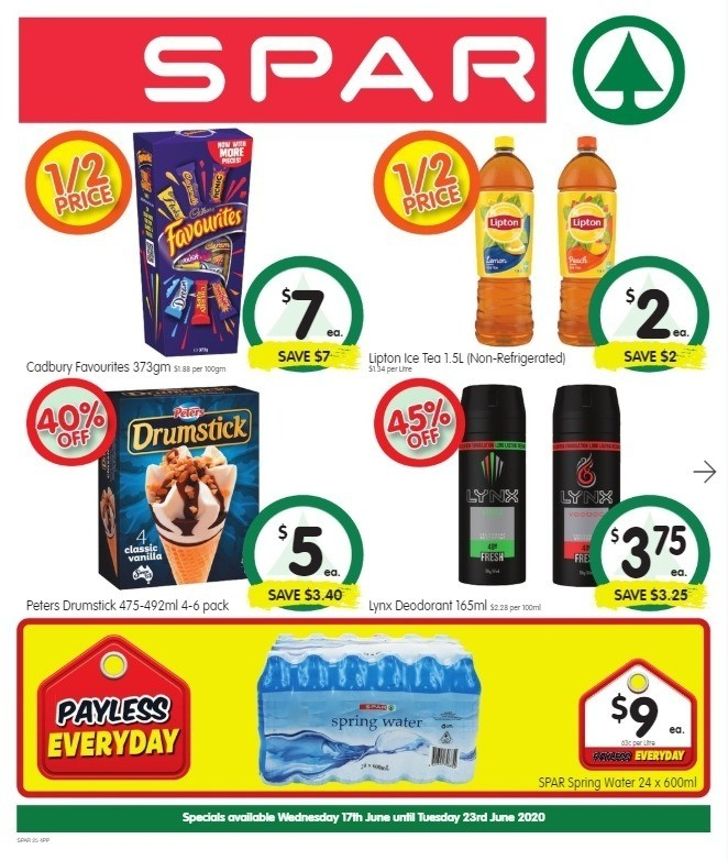 Spar Catalogues from June 17