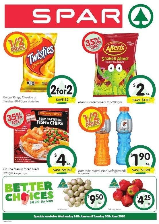 Spar Catalogues from June 24