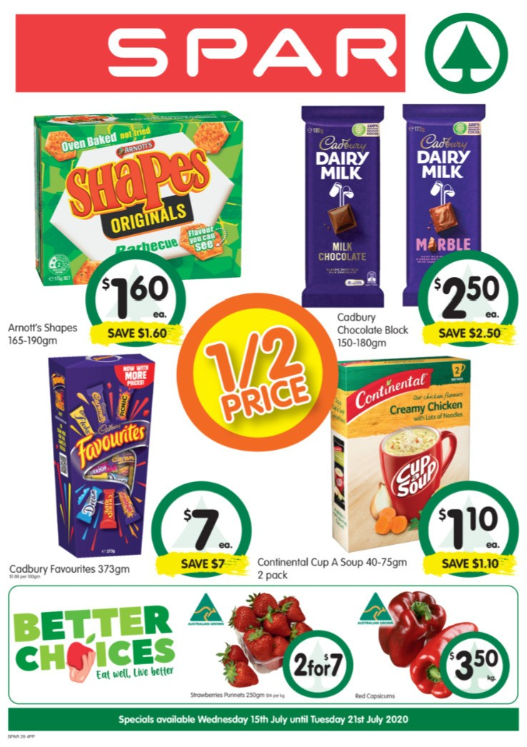 Spar Catalogues from July 15