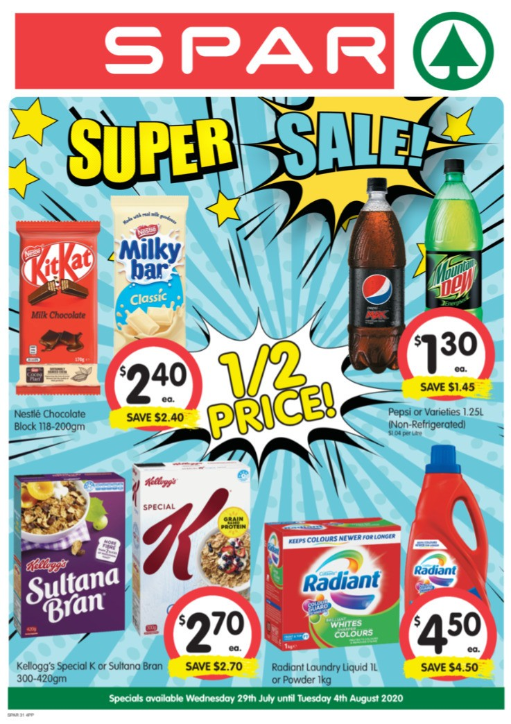 Spar Catalogues from July 29