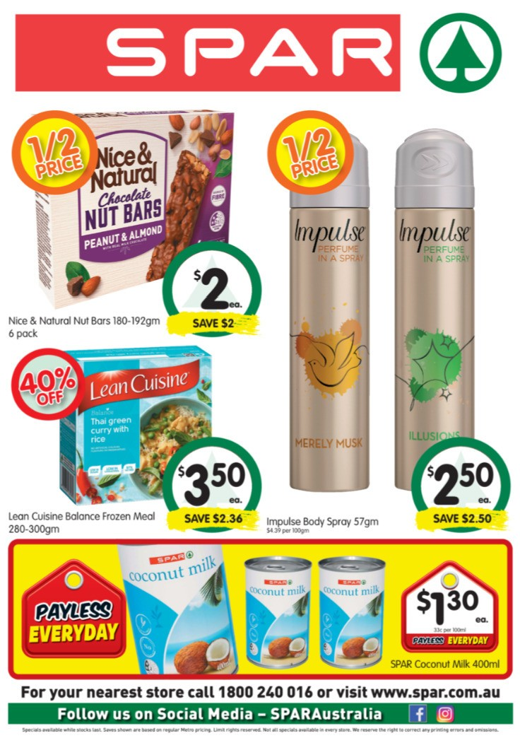 Spar Catalogues from August 5